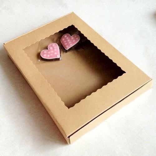 """Kraft Cookie Boxes - 14.2"""" X 10"""" X 1.8"""" ($3.20 x 25 sets)"""